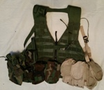aff40beac1a7 USGI Tactical Zippered FLC w 8 Pouches