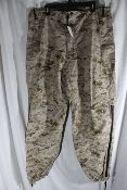 Official USMC Issue Desert Digital MARPAT Gore-Tex Trouser