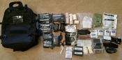 Blackhawk  STOMP II Medical Pack stuffed w Medic supplies!
