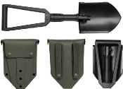 Gerber E-Tool Folding Entrenching Tool w Nylong Sheath BLACK