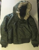 Vintage Issued Alpha N-2B Hooded Pilot's Jacket Captain, 101st Airborne, Ranger THUMBNAIL