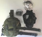 USGI M40 Series Military Gas Mask