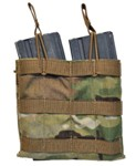 Tactical Tailor MULTICAM 5.56 Double Mag Panel 30 RD