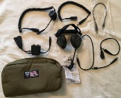 Liberator III BASIC-TACP/JTAC Secure Dual-Comm Tactical Headset w Integrated Digital Hearing Protect