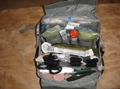 TC3-V1 Tactical Combat Casulat Care Pack with contents