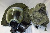 USGI MCU 2/P Series Navy Gas Mask