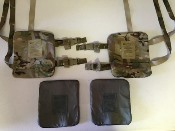 KDH Magnum TAC 1 Side Plate Carrier Set WITH Ballistic Kevlar Inserts