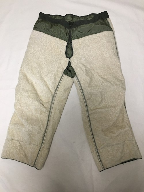 c1962 M-1951 Frieze Liner, Trouser, Artic 30% Mohair 30% Wool & 40% Cotton LARGE