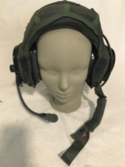 Combat Vehicle Crewmen CVC Communications Liner w Headset & Mic New or Used LARGE