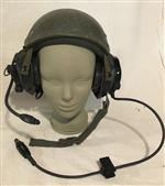 Army Surplus Kevlar CVC Helmet DH-132 w all Bose Headset THUMBNAIL