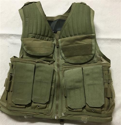 Blackhawk Omega Elite COYOTE Tactical Vest #1 SWATCH