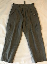Bundeswehr Authentic German Army Wool Pants THUMBNAIL