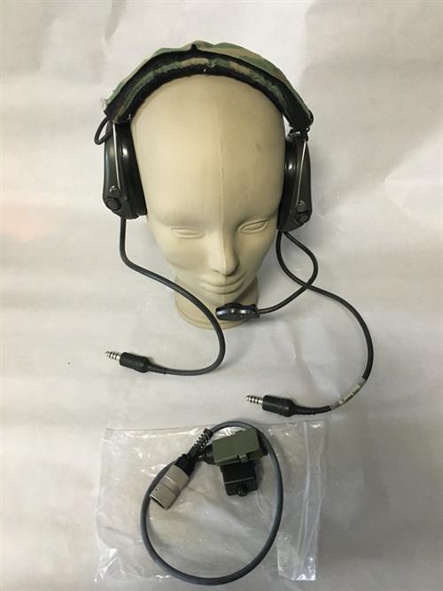 MSA Sordin Supreme Pro 75311 Dual Communications Headset With U-94