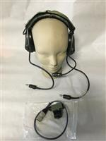MSA Sordin Supreme Pro 75311  Dual Communications Headset with U-94 A/U PTT Cable Assembly THUMBNAIL