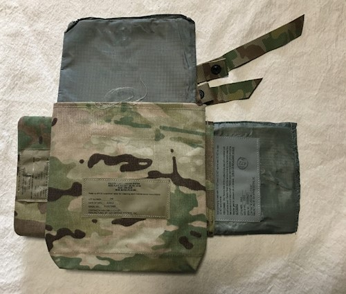 KDH Tac 1 Cummerbund & Side Plate Pockets WITH Kevlar Inserts LARGE