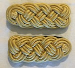 Army Gold Bullion Mess Knots by Marlow White THUMBNAIL