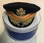 Army Dress Blue Officer's Visor Cap Colonel By Kingsform Size 7 THUMBNAIL