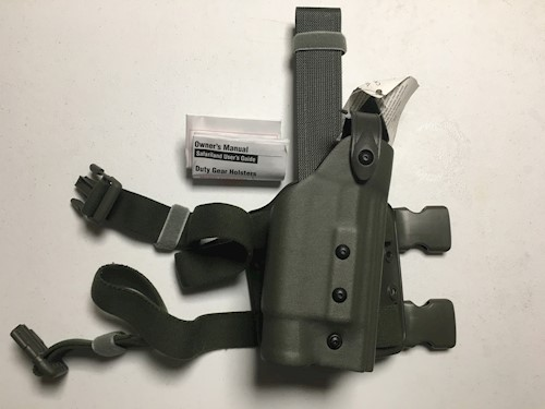 Safariland 6004 736-541 Holster for Beretta 92 with Surefire P116 Foliage Green OR Olive Green SWATCH