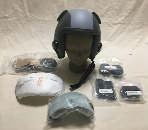 Gentex HGU 55/P HALO Fighter Pilot Helmet NEW LARGE