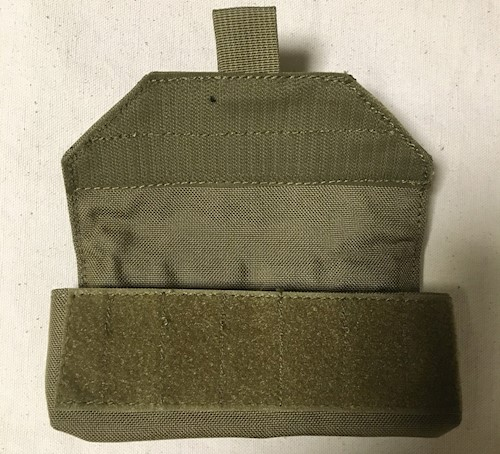 London Bridge Trading 12 Round Shotshell Pouch Coyote Brown SWATCH