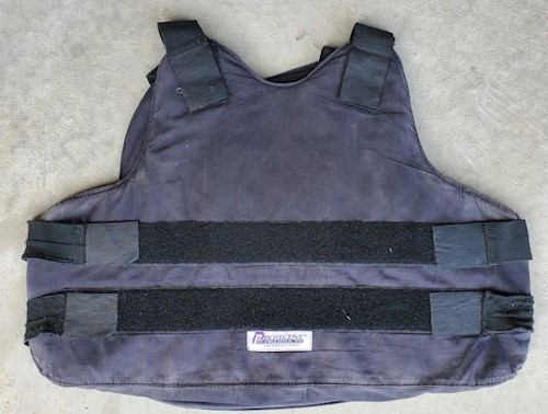 IIA Concealable Body Armor Size Large by Protective Products International Model VIPER LARGE