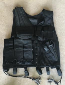 BlackHawk Omega Elite Vest Cross Draw/ Pistol Mag LARGE