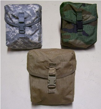 200 Round SAW Pouch ACU MOLLE  Ammo Pouch_LARGE