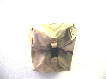 200 Round SAW Pouch Desert MOLLE  Ammo Pouch