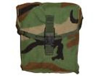 200 Round SAW Pouch Woodland MOLLE  Ammo Pouch