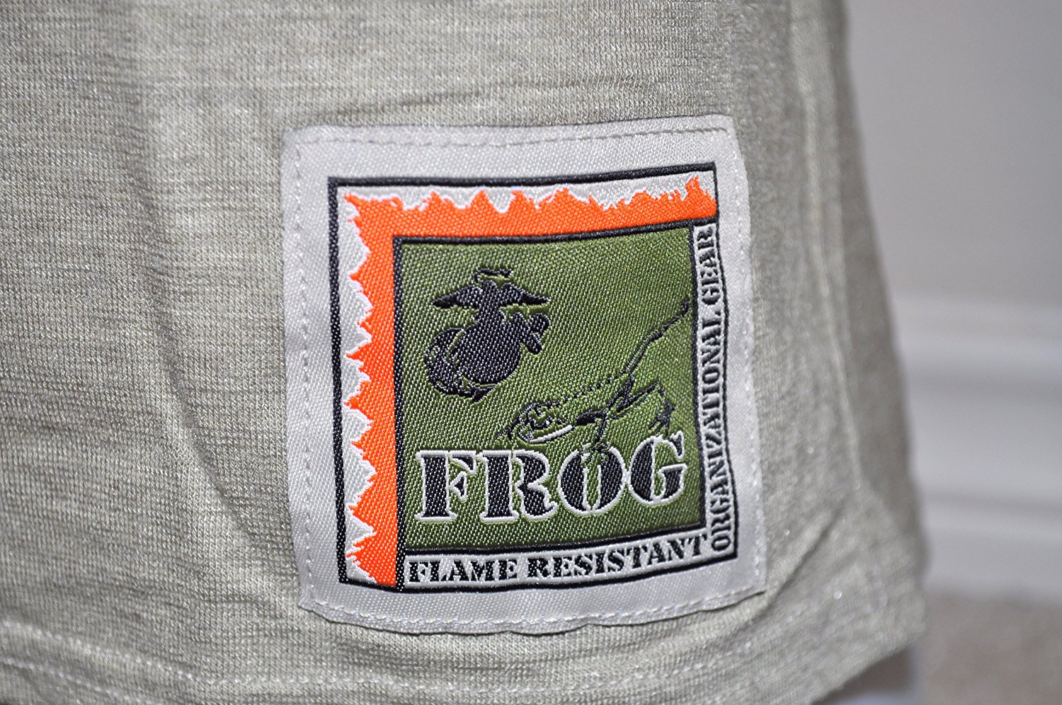 USMC Silk Weight FROG ECWCS Level 1 Base Layer Long Sleeve Crew T Shirt_SWATCH