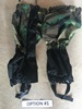 USGI Military Issue Woodland BDU Gaiters SWATCH