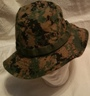 USMC Sekri MCCUU Woodland Digital Boonie Hat SWATCH