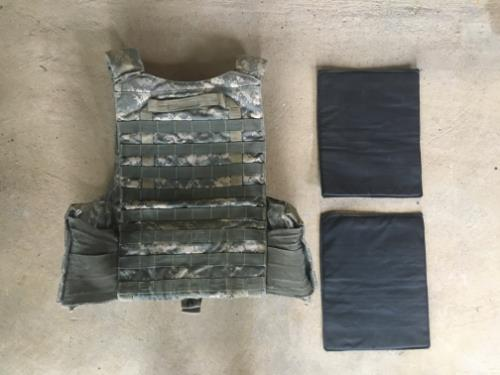 Tactical Assault Gear AEGIS Plate Carrier WITH Ballistic Kevlar Inserts SWATCH