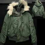 Issued Alpha N-2B Hooded Pilot's Jacket