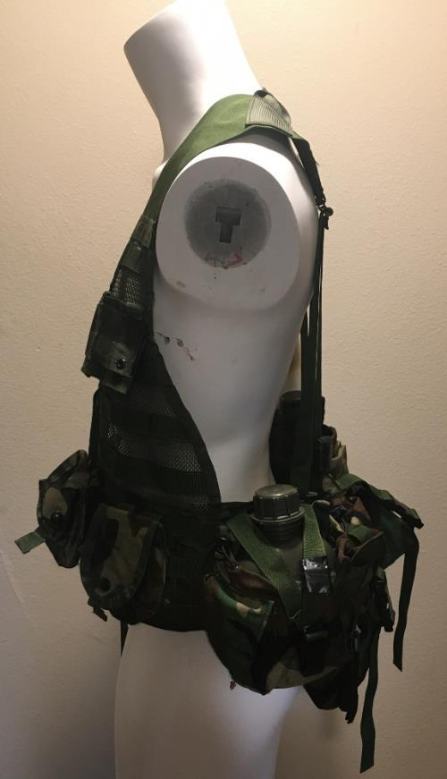 Fighting Load Carrier (FLC) Vest with 8 pouches New SWATCH