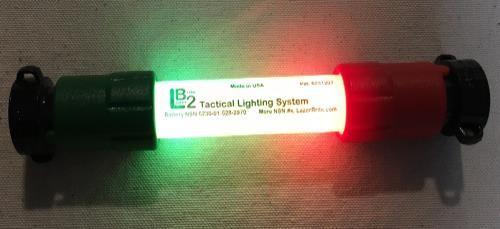 LB2 Lazerbrite Tactical Lighting Kit with Batteries & Case SWATCH