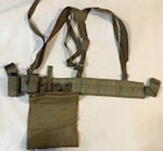 Eagle Industries Padded War Belt with Suspenders & Pouches THUMBNAIL