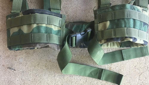 Brokos/Battle Belt Woodland BDU Ranger Padded Utility Belt MAIN