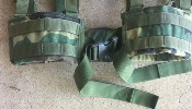 Brokos/Battle Belt Woodland BDU Ranger Padded Utility Belt