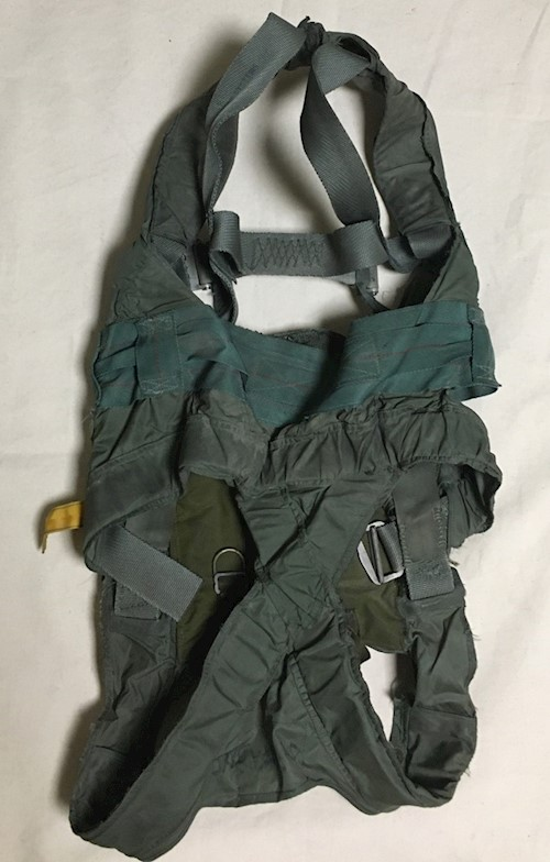 1 Naval Air System MA-2 Adjustable Integrated Parachute Restraint Harness with survival tools SWATCH