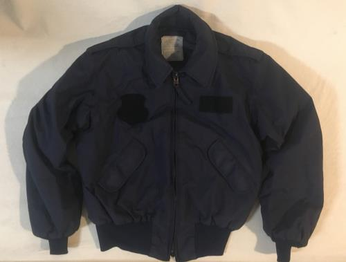 Military Security Police Winter Jacket SWATCH