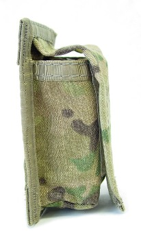 40 mm High Explosive Single MultiCam MOLLE Ammo Pouch