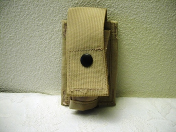 40 mm High Explosive Single Desert MOLLE Ammo Pouch_LARGE
