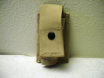 40 mm High Explosive Single Desert MOLLE Ammo Pouch_THUMBNAIL