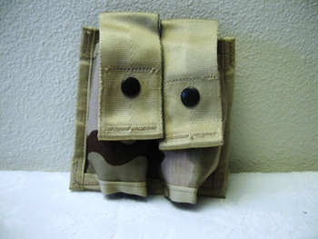40 mm High Explosive Double Desert MOLLE Ammo Pouch LARGE
