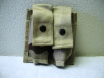 40 mm High Explosive Double Desert MOLLE Ammo Pouch
