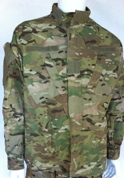 MultiCam Type I Combat Jacket Flame Resistant Perimeter Insect Guard MAIN
