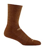 Darn Tough Micro-Crew Light Cushion Boot Sock Coyote Brown for Hot Weather THUMBNAIL