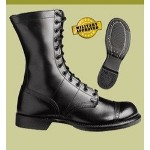 USGI HH Brown Brand Corcoran I Paratrooper Black Jump Boots Issue THUMBNAIL