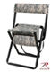Deluxe Quiet  ACU Camo Folding Chair w/pouch Mini-Thumbnail